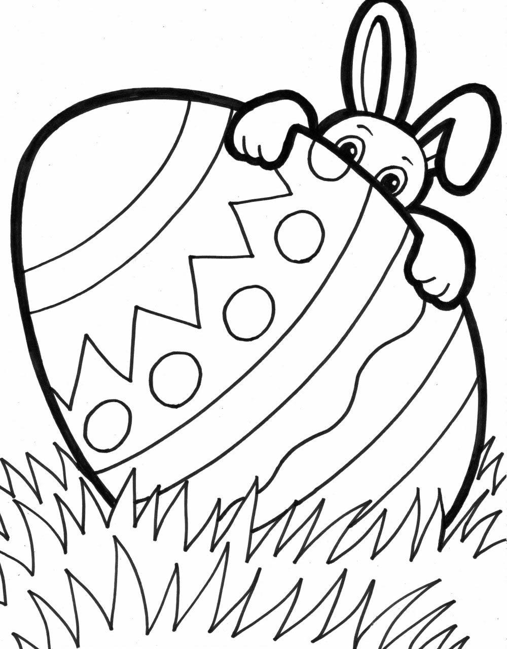 Disegno Uovo Pasqua gigante