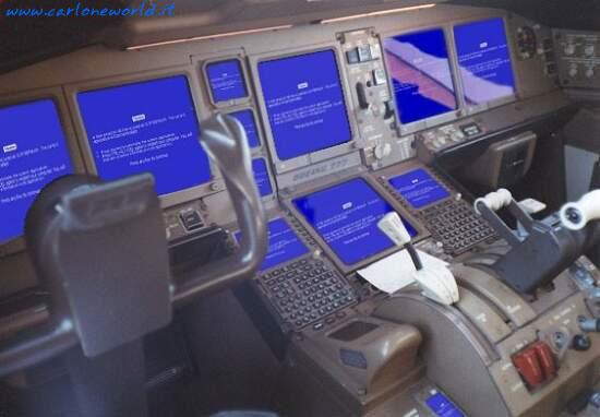 Windows sugli aerei