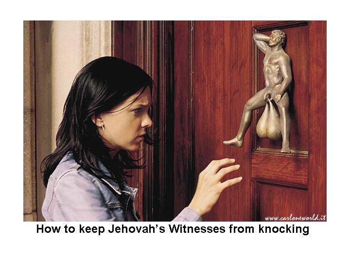 come imped ai Testim Geova di buss