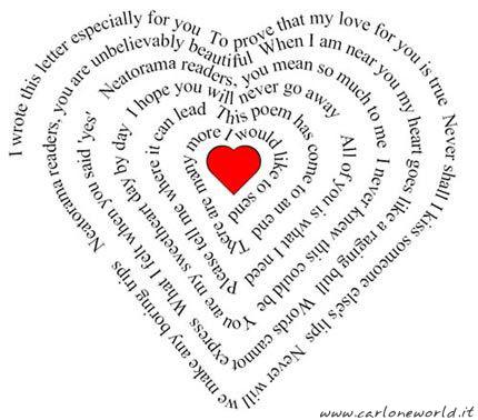 parole d amore