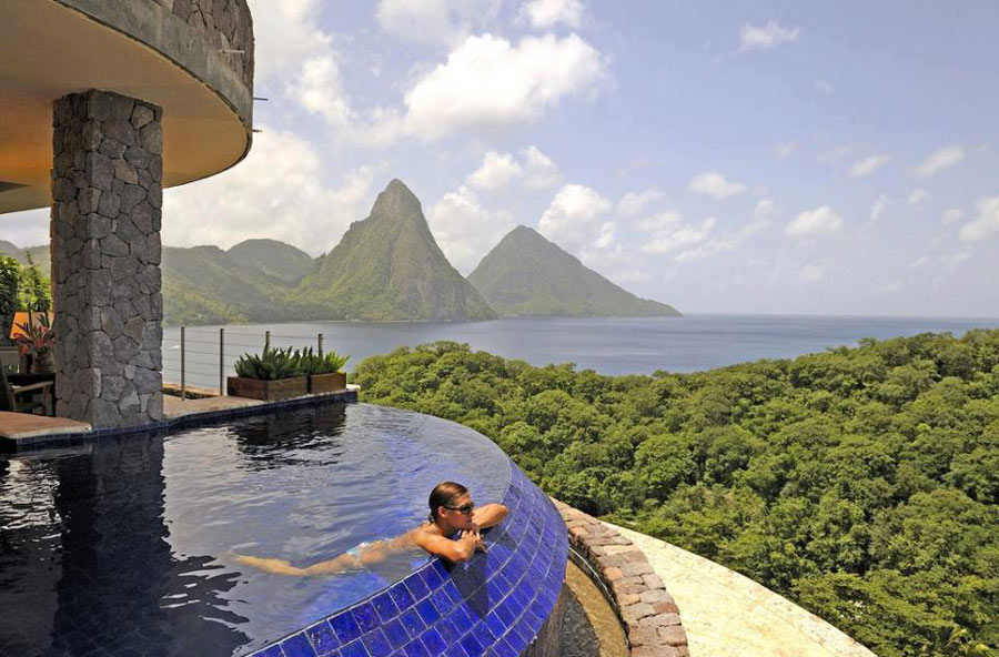 panorama da piscina