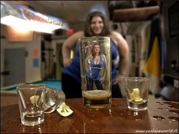 scherzi dell alcool