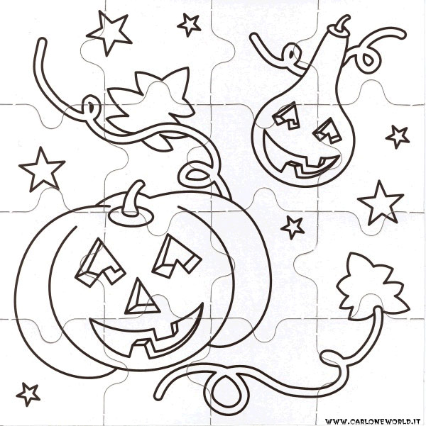 puzzle halloween