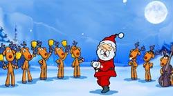 Sfondi Natalizi Renne.Pps Babbo Natale Ed Il Coro Delle Renne