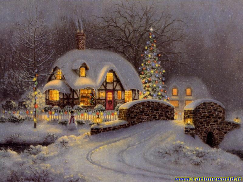 Paesaggio natalizio