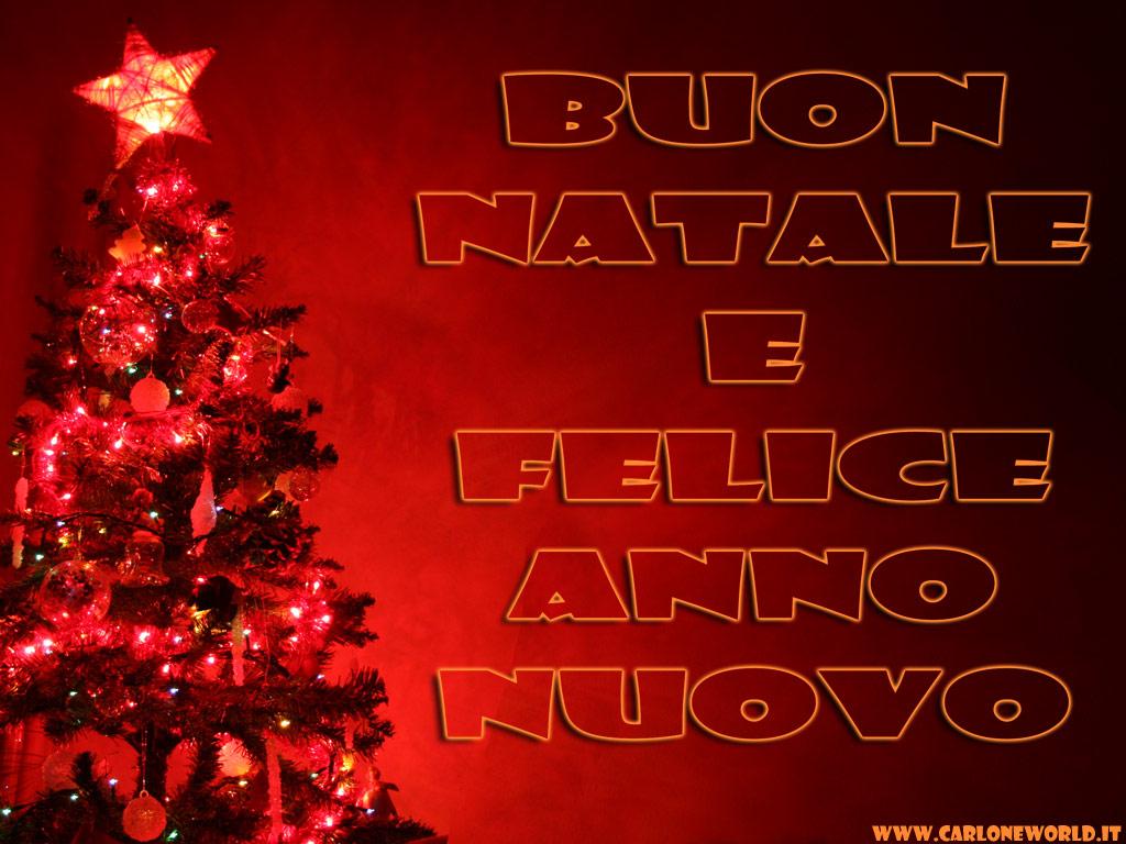 Immagini di Natale: buon Natale e felice Anno nuovo