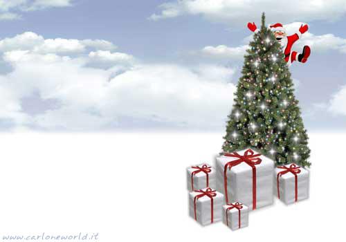 Babbo Natale e doni