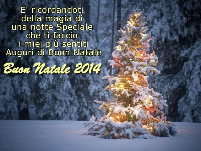 Frasi Auguri Di Buona Vigilia Di Natale.Auguri Di Natale 2019 Auguri Di Buon Natale 2014 Con Albero
