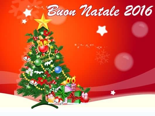Immagine di Natale: Cartolina Buon Natale 2016