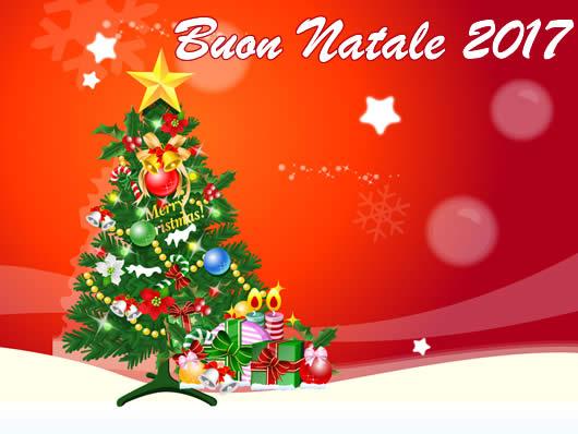 Immagine di Natale: Cartolina Buon Natale 2017