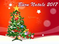 Cartolina Buon Natale 2017