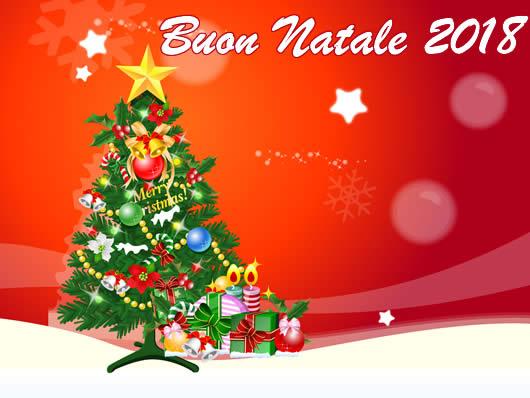 Immagine di Natale: Cartolina Buon Natale 2018