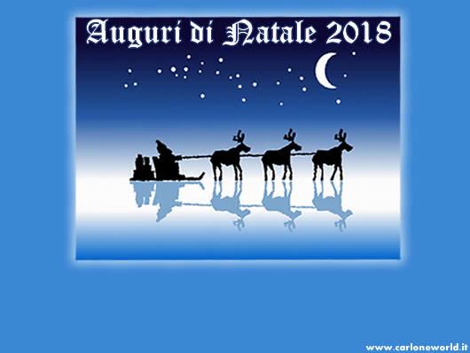 Immagine di Natale 2018: Immagine Auguri di Natale 2018