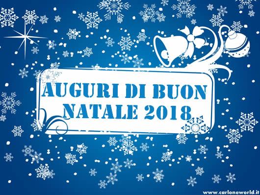 Immagine di Natale: Cartolina Auguri di Natale 2018