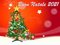 Cartolina Buon Natale 2021
