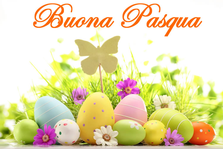 Dolce Immagine di Pasqua: Buona Pasqua.