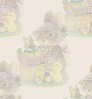sfondo Pasquale con dolce coniglietta