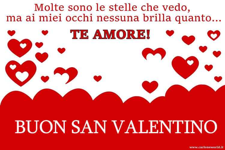 Buon San Valentino da condividere