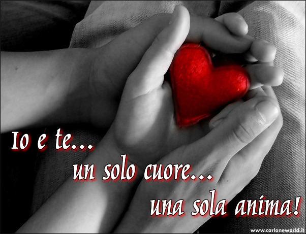 Io e Te, un solo cuore, una sola anima