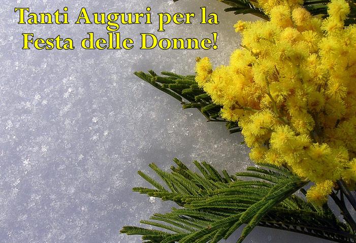 Festa Della Donna Tanti Auguri