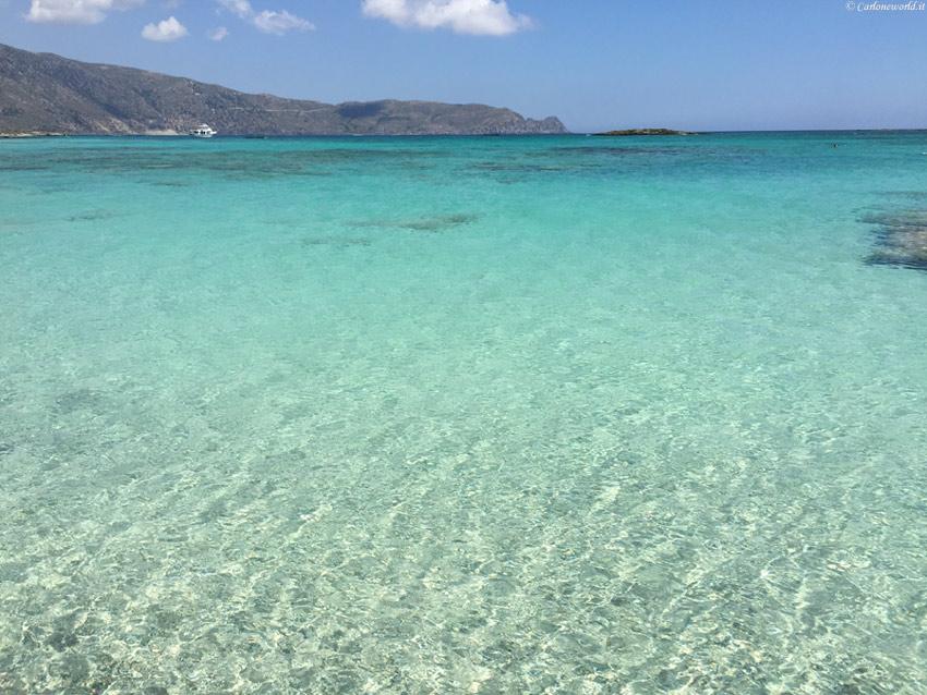 Foto Mare: spiaggia di Elafonissi, Creta, Grecia