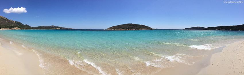 Foto Spiaggia Bellissima: Sardegna (parte sud), spiaggia di Teulada (CA)