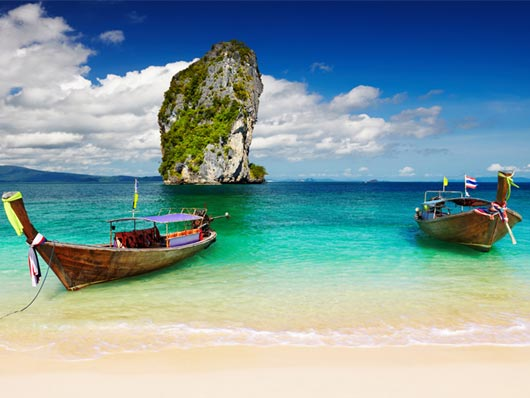 Spiaggia bellissima Thailandia