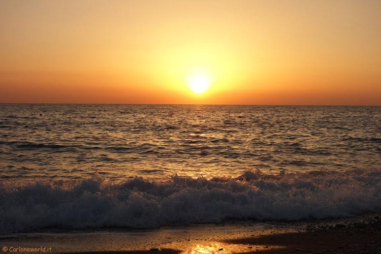 Tramonto al Mare (Calabria)