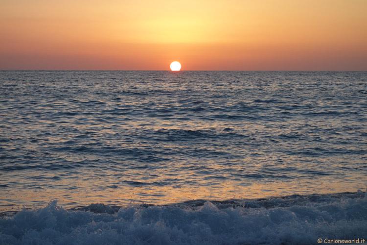Tramonto al Mare, Paola (CS)