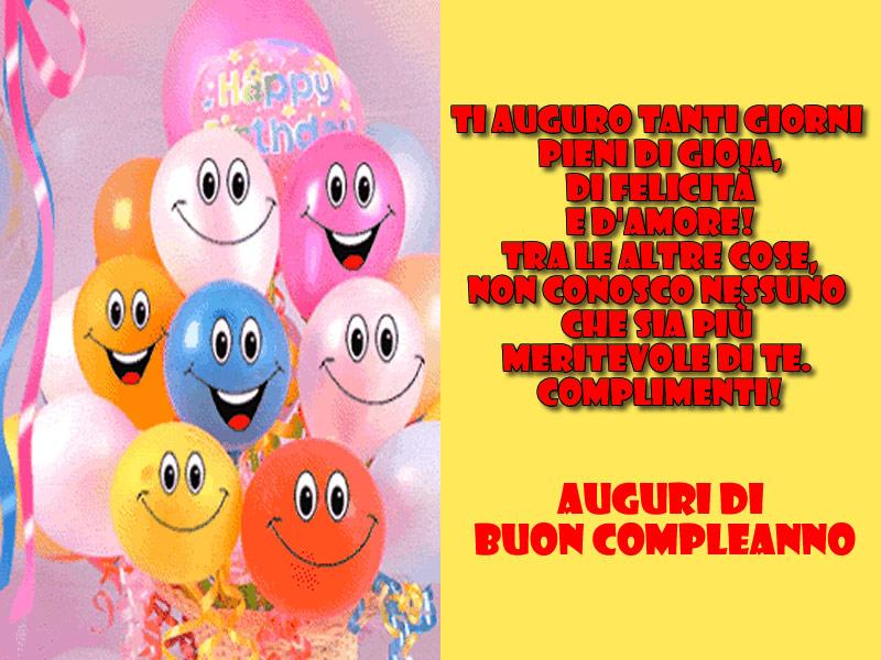 Auguri Di Compleanno Buon Compleanno