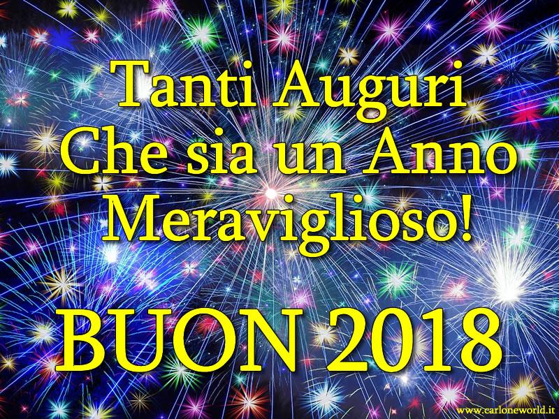 Auguri di Capodanno 2018: i migliori auguri di Capodanno