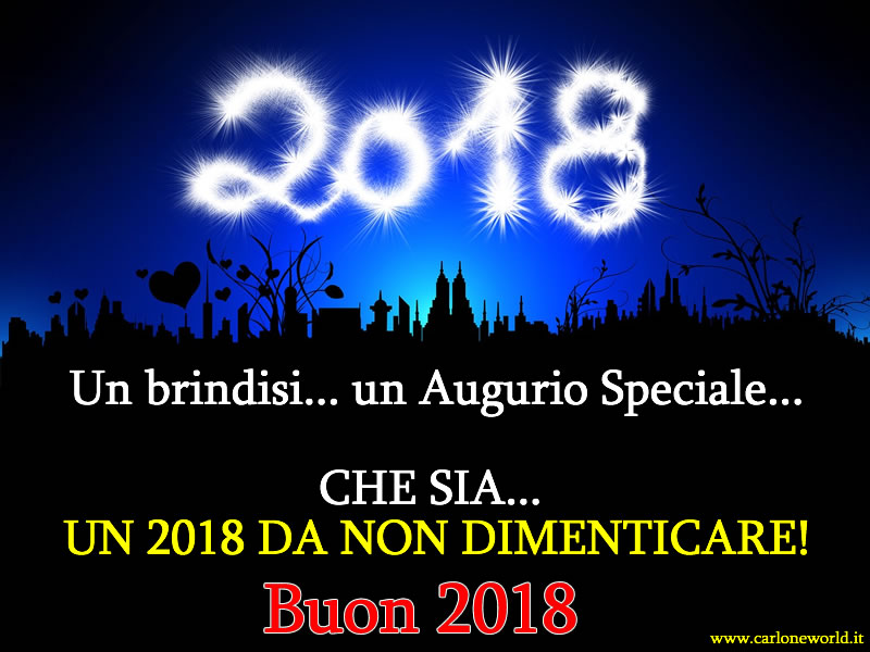 Famoso Frasi Buon Anno - Frasi Buon 2018 CO43