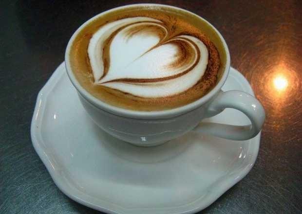Immagine Romantica: Cappuccino con Cuore
