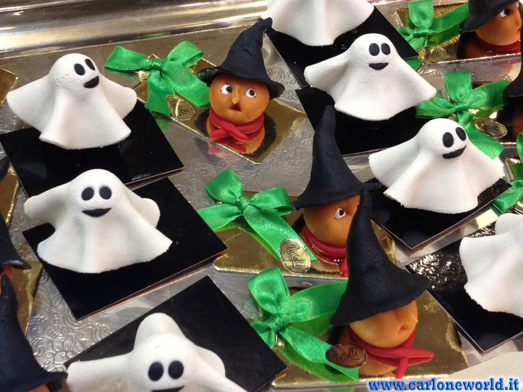 Dolci di Halloween: fantasmini e zucche