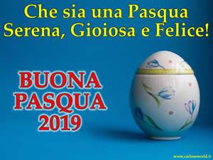 immagine Auguri Pasqua 2019