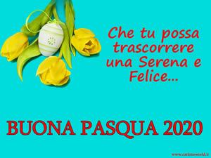immagine Buona Pasqua 2020