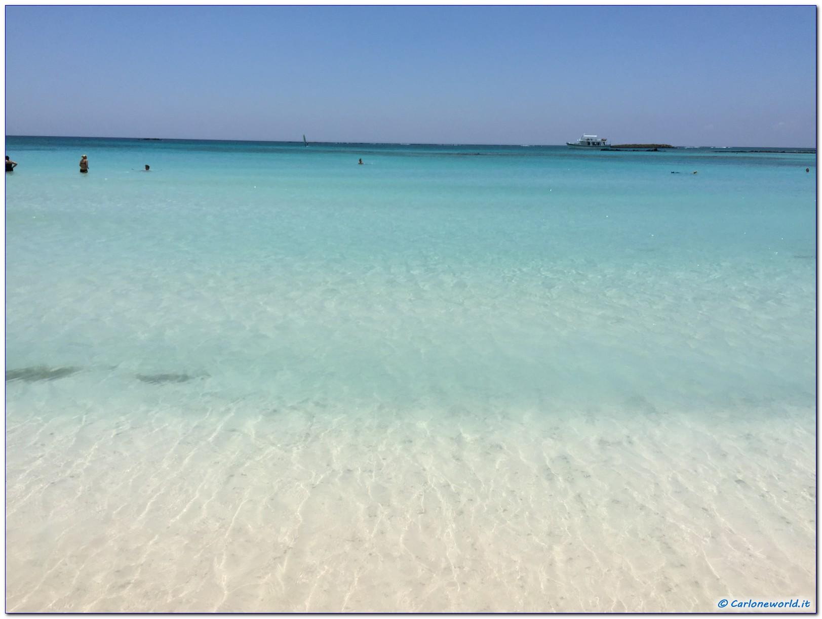 La spiaggia piu' bella di Creta