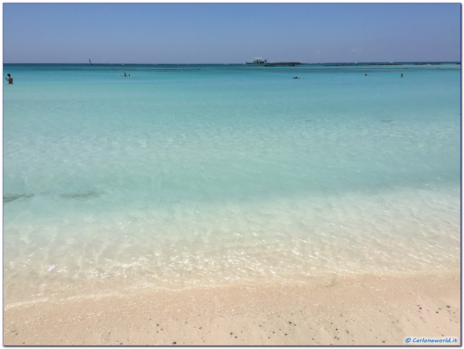 Spiaggia Elafonisi Stupenda