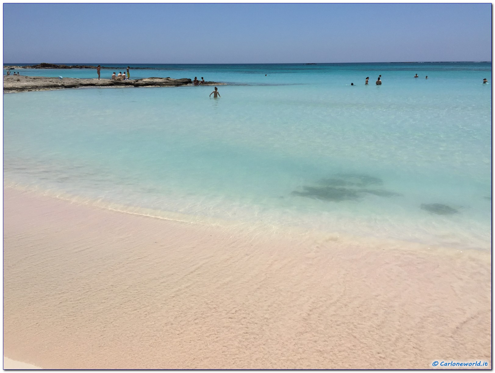 Spiaggia Rosa di Elafonisi Creta