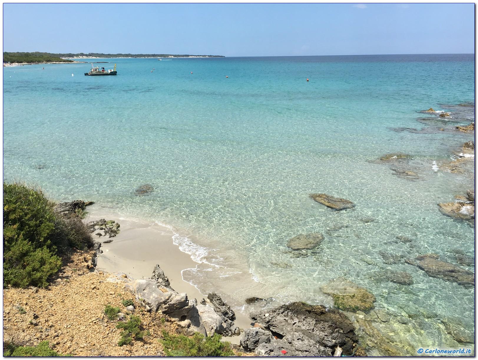 Baia dei Turchi mare
